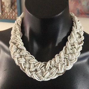 Jewelry - Braided Beaded Necklace